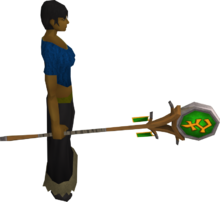 Banner of Bandos equipped
