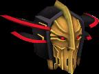 Black Knight captain's helm chathead