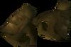 Golden warpriest of Saradomin gauntlets detail