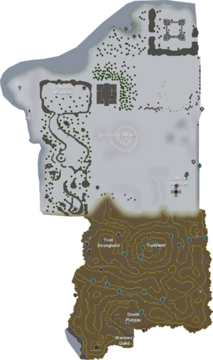 Troll Country map