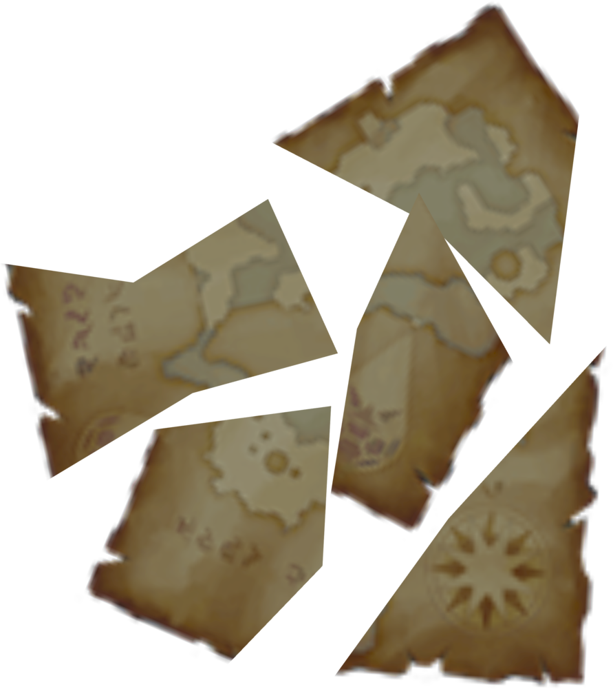 Map fragments detail