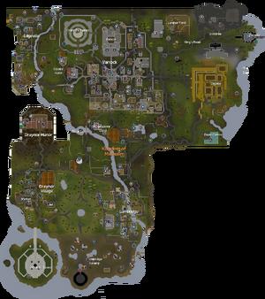 Misthalin map