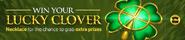 Lucky clover lobby banner