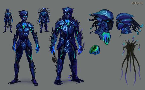 Sirenic Armour concept art