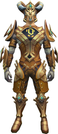 Furnished gorajan trailblazer outfit equipped