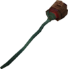 Mysterious staff detail