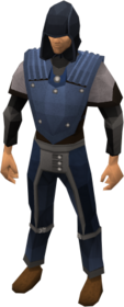 Academy ranged armour equipped