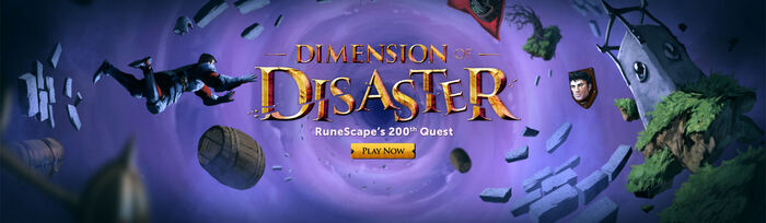 Dimension of Disaster head banner