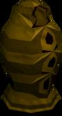Infernal urn (unf) detail
