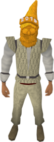 Golden gnome hat 2015 equipped