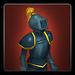Replica metal plate armour icon