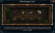 Wreckage loot