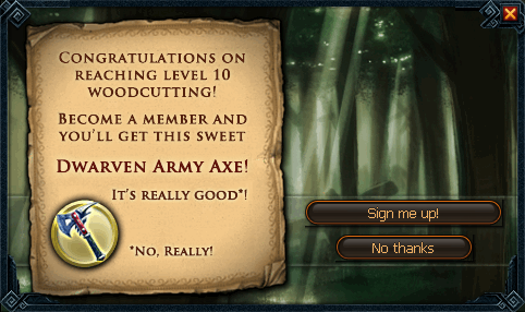 File:Dwarven army axe (Woodcutting) popup.png