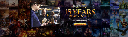 15 Years of Adventure head banner