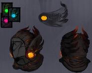 Lava hood concept art