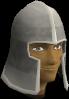 Iron helm chathead