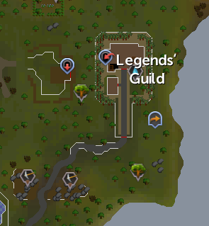 Legends' Guild mining site