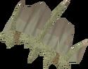 Protomastyx hide detail