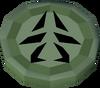 Green charm (Dungeoneering) detail