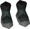 Runic shoes detail