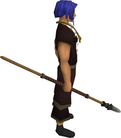 File:Iron spear equipped.png