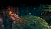 Polypore Resource Dungeon entrance