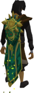 Cloak of Seasons (spring) equipped