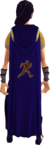Agility cape equipped