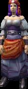 Fayre (Fortune Teller) (female) equipped