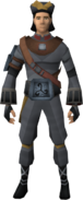Eastern Crew's outfit equipped (male)