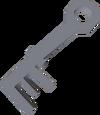 Een crystal key.