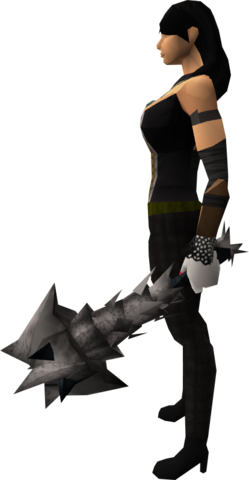 File:Off-hand drygore mace (Third Age) equipped.png