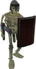 Skeleton (Barrows) old