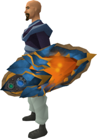 Augmented dragonfire ward equipped
