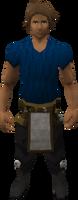 Retro carpenter legs and apron