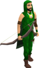 Green dragonhide armour equipped old