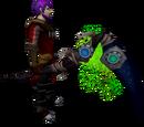 Augmented noxious scythe