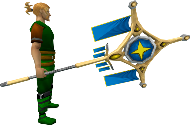 File:Banner of Saradomin (tier 4) equipped.png