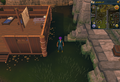 Compass clue Burthorpe east of the building next to Heroes' Guild.png