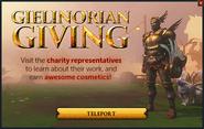 Gielinorian Giving popup