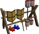 Extra weapons rack