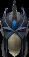 Full slayer helmet (blue) detail