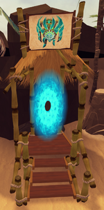 Guthixian Cache portal