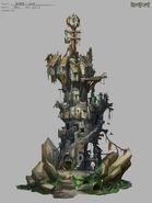 Bandos tower concept art