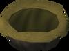 Raw mud pie detail