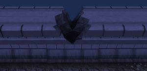 Wall gap