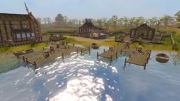 Fishing Guild docks