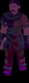 Ethereal figure