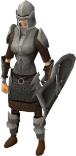 Iron armour set (sk) equipped