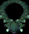 Cabbagespeak amulet detail